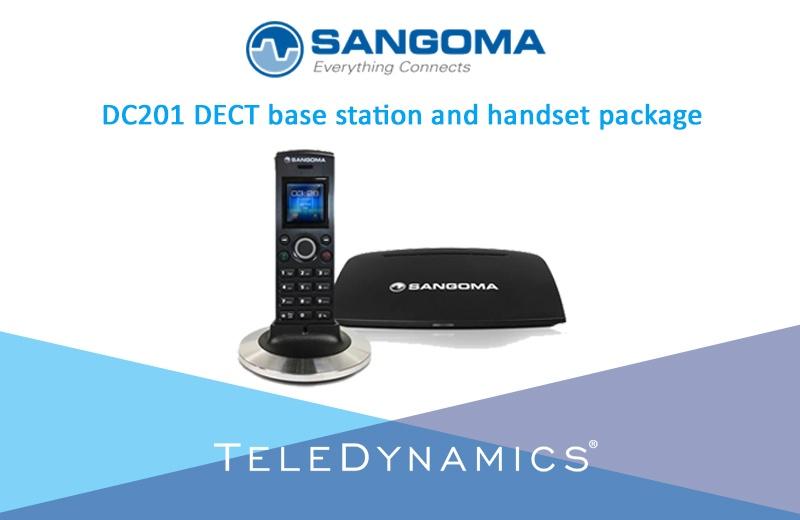 Sangoma DC201 base station and handset package
