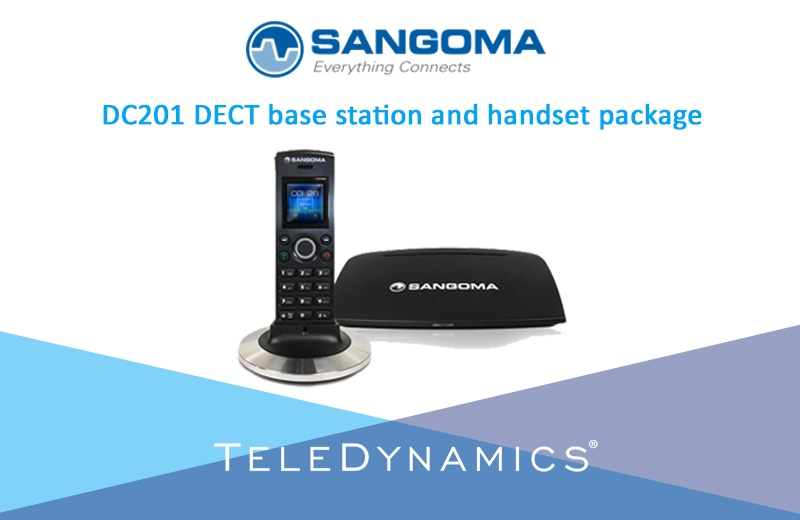 Sangoma DC201 base station and handset package