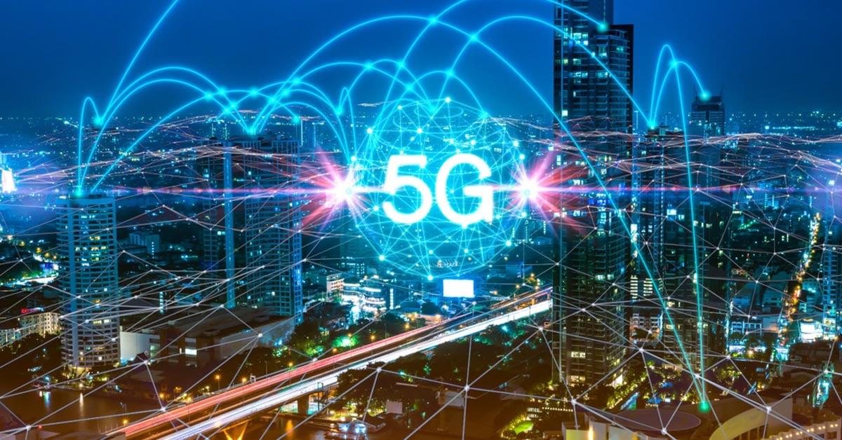 5G network in an urban landscape - TeleDynamics blog