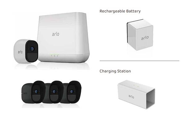 Arlo Pro Wire-Free HD Camera Surveillance System
