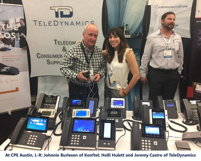 TeleDynamics booth at Channel Partners Evolution