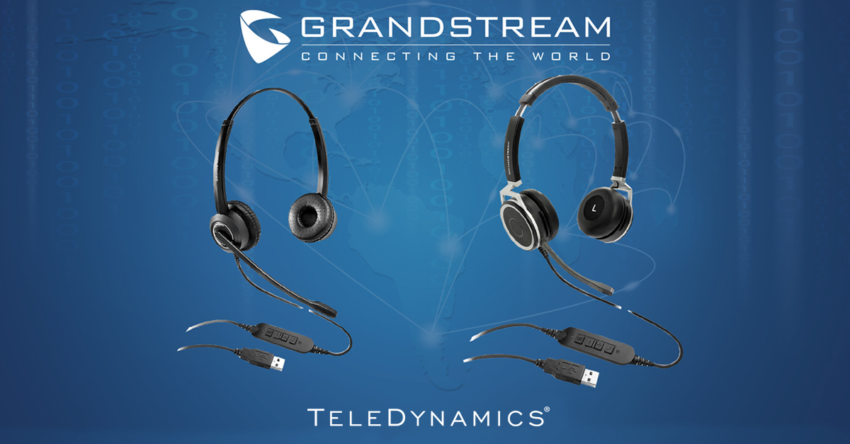 Product Review of Grandstream's GUV3000 & GUV3005 headsets, by TeleDynamics