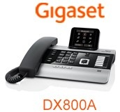 Gigset DX800A all-in-one IP phone with integrated Bluetooth