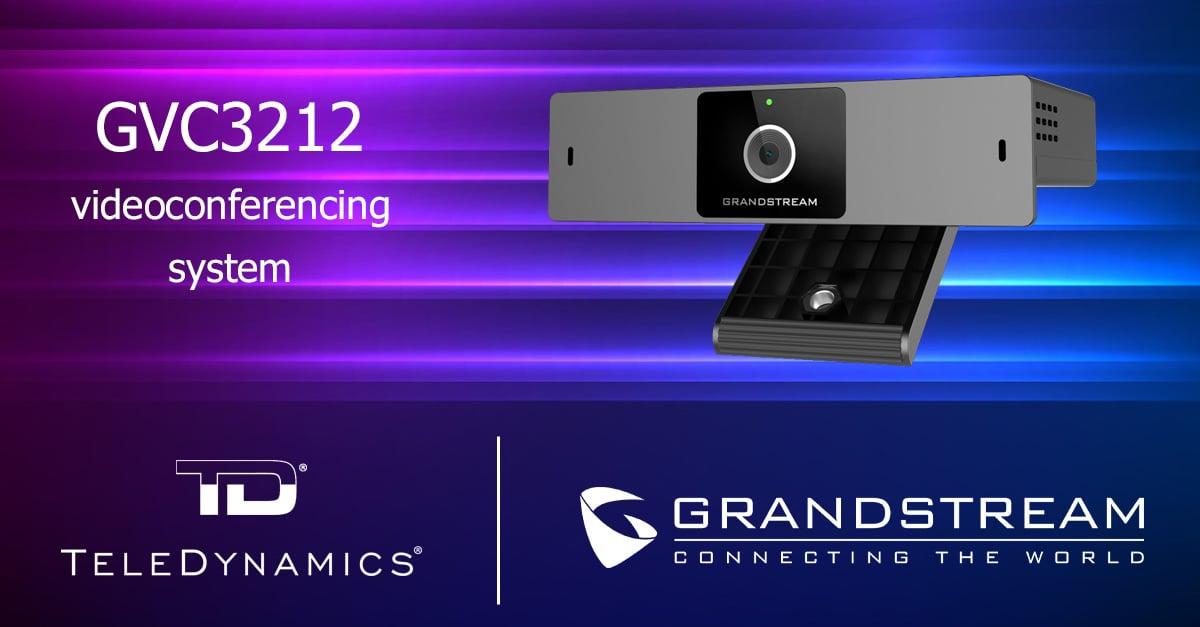 Grandstream GVC3212 videoconferencing system