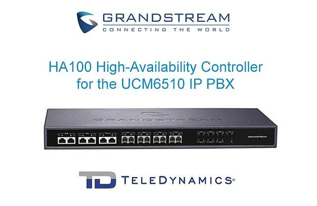 Grandstream HA100 high-availability controller for the UCM6510 IP PBX