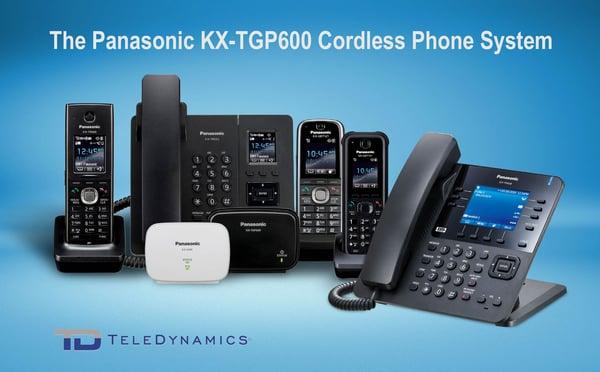 Panasonic KX-TGP600 SIP-DECT cordless phone system