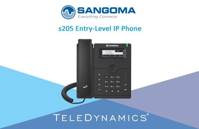 Designed to work with FreePBX and PBXact Sangoma IP phones