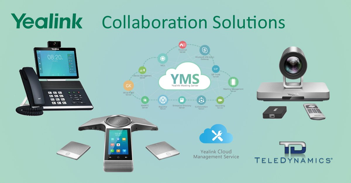 Yealink collaboration solutions