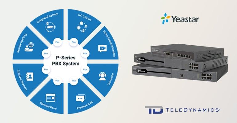 Yeastar P-Series PBX System from TeleDynamics