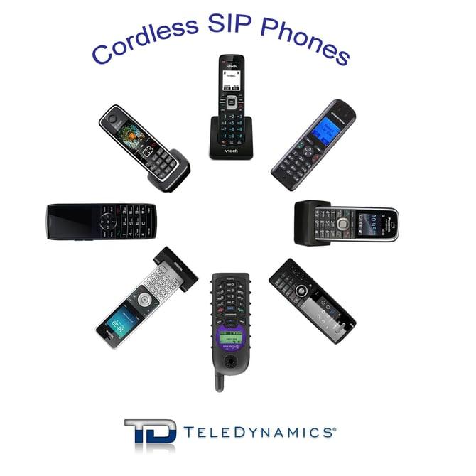 cordless SIP phone handsets - TeleDynamics