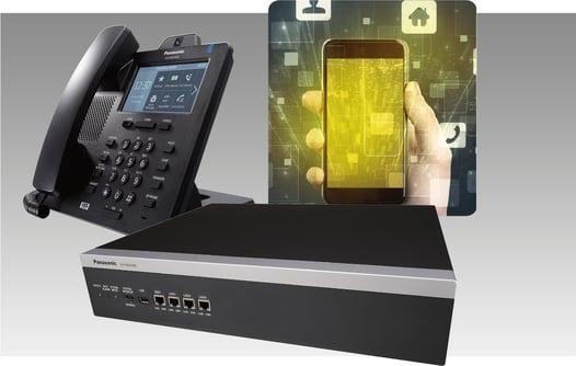Panasonic IP phone, IP PBX and  Mobile Soft Phone