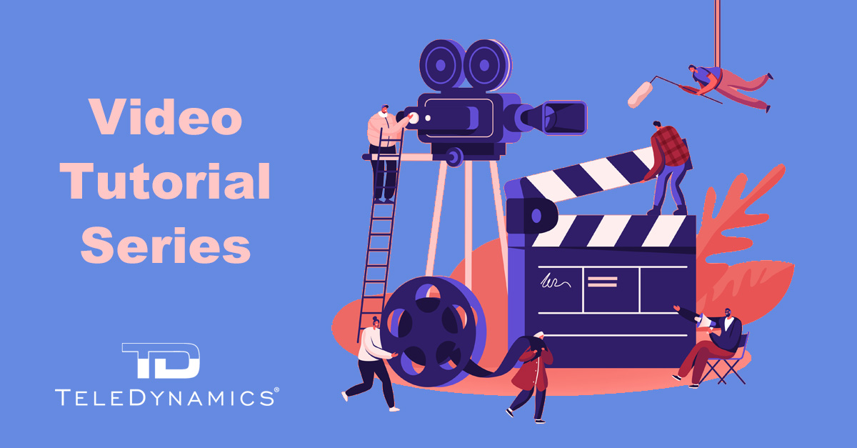 TeleDynamics launches video tutorial series