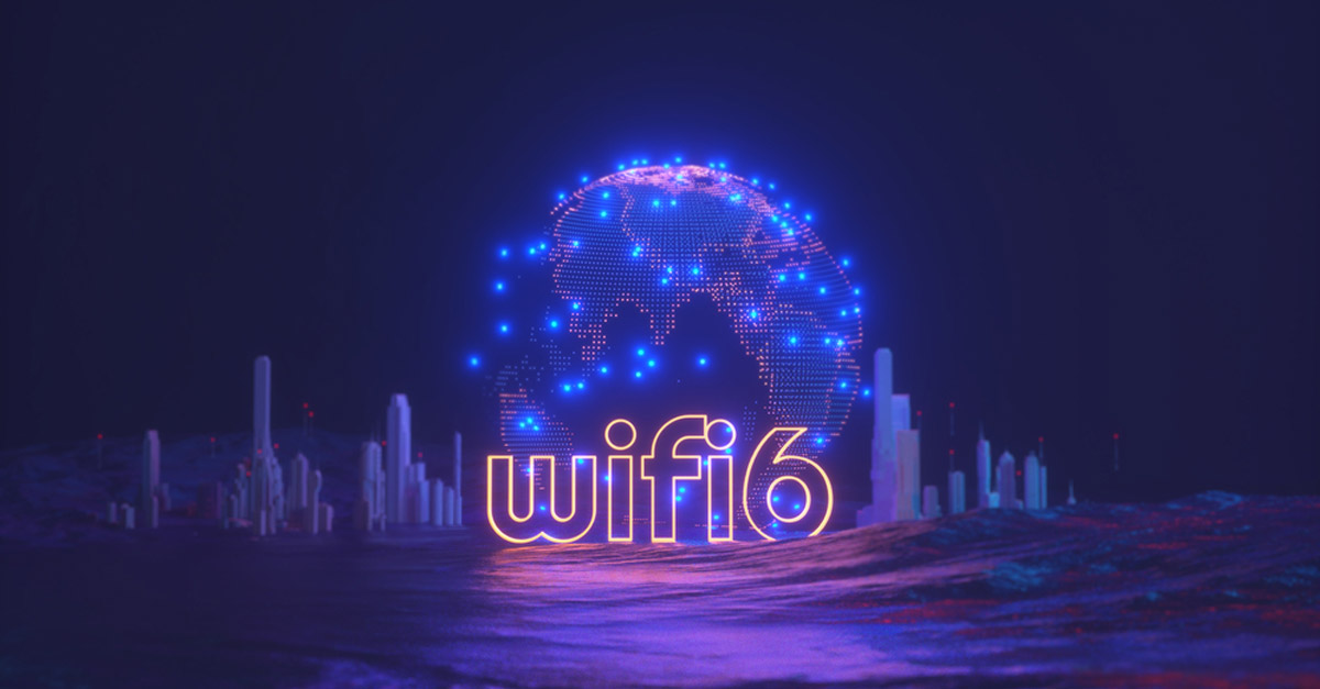 Wi-Fi 6, article brought to you by TeleDynamics