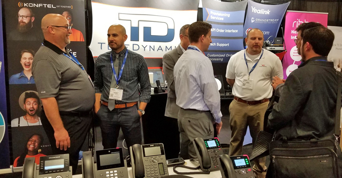TeleDynamics Booth at ITExpo 2020