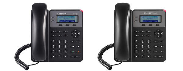 (L-R) Grandstream GXP1610 & GXP1615 with PoE IP phones