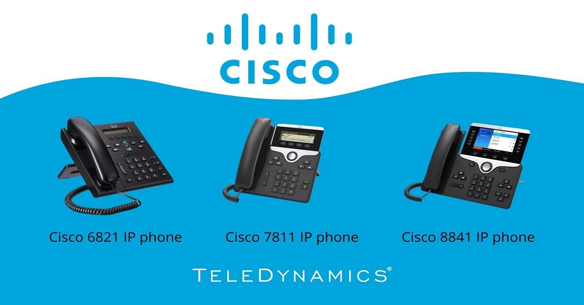Cisco multiplatform IP phones - distributed by TeleDynamics