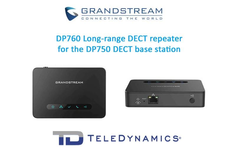 Grandstream DP760 long-range DECT repeater