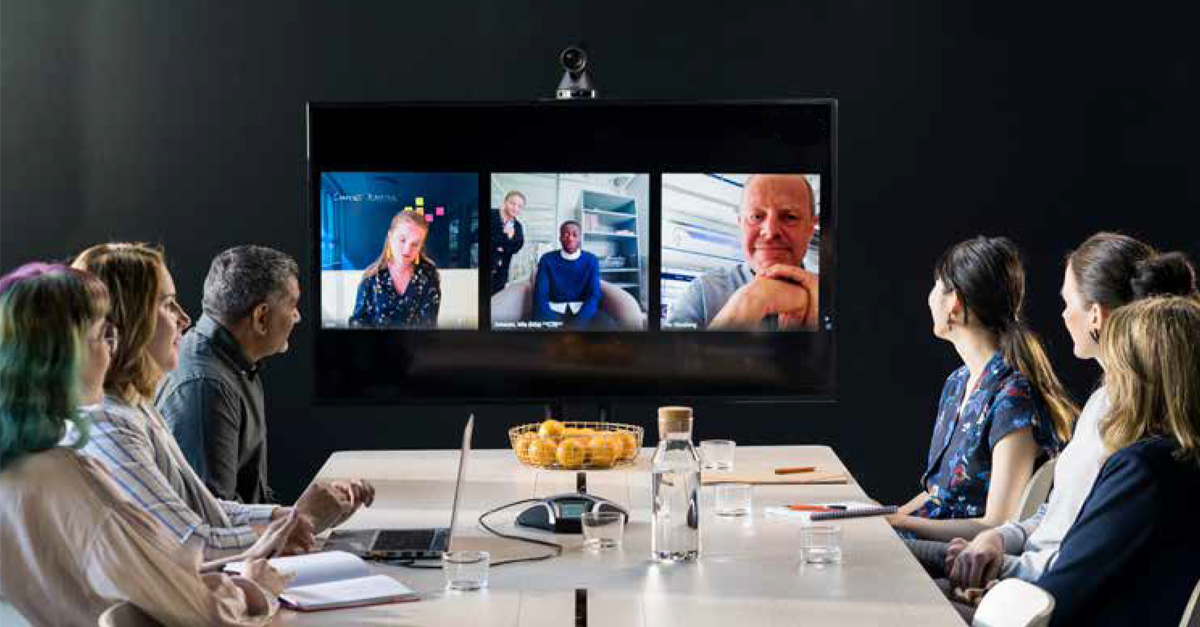 Konftel-powered video conference