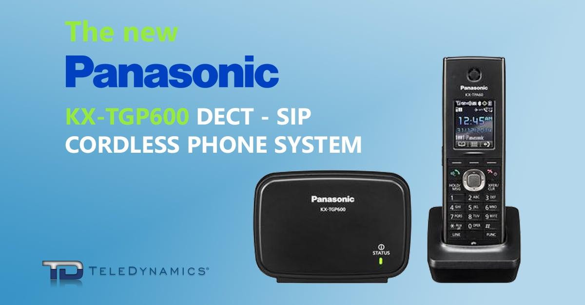 Panasonic KX-TGP600 cordless phone system image