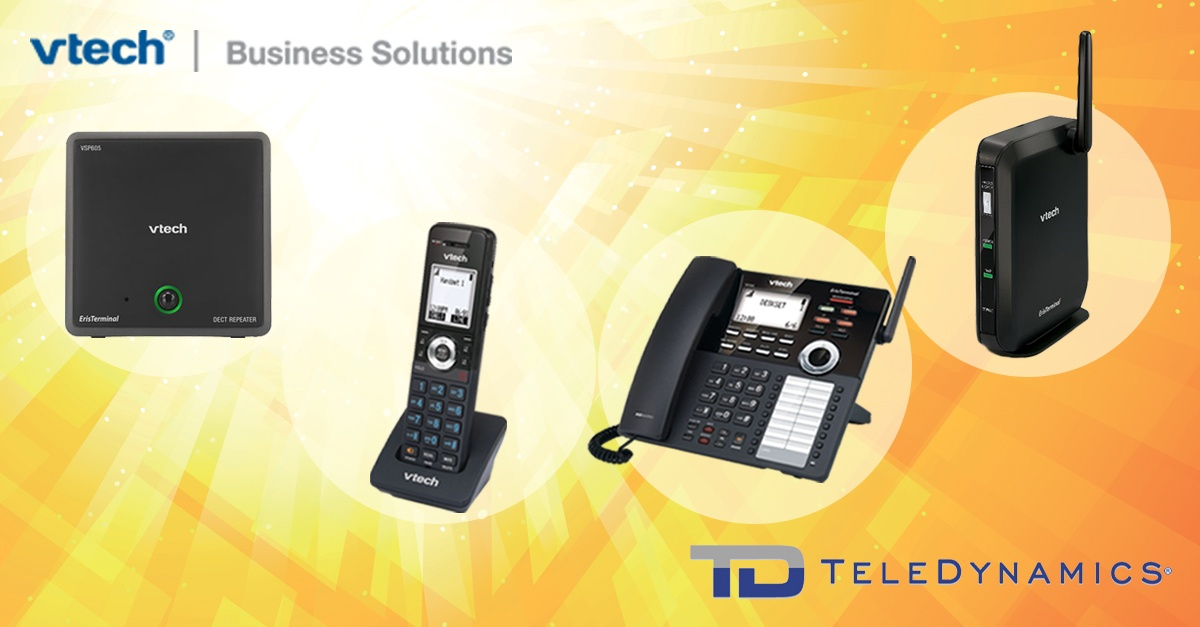 VTech VDP650 series SIP-DECT cordless telephony solution