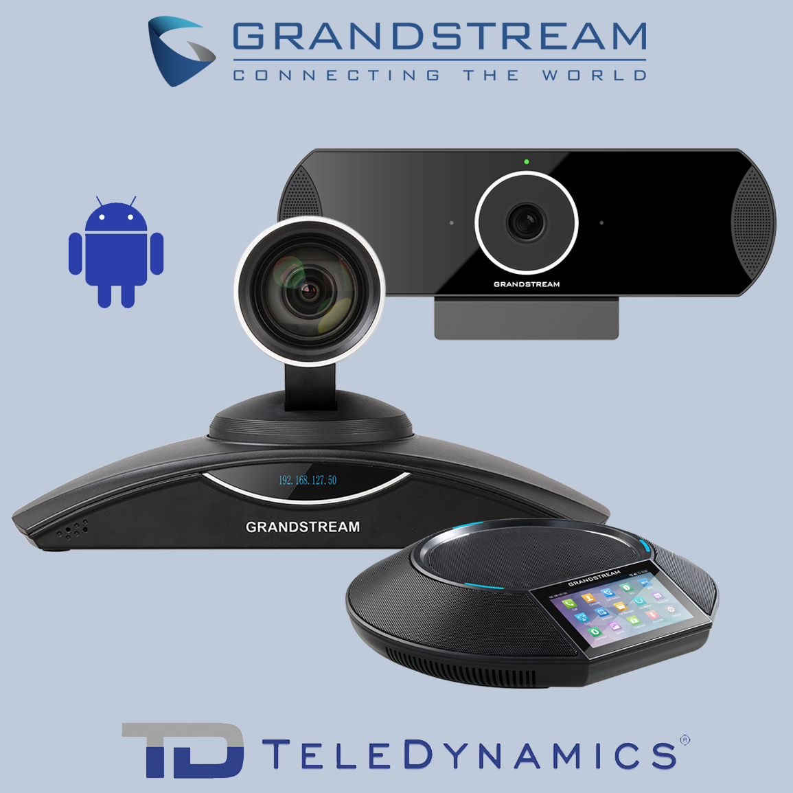 Grandstream GVC3200 series conference solution