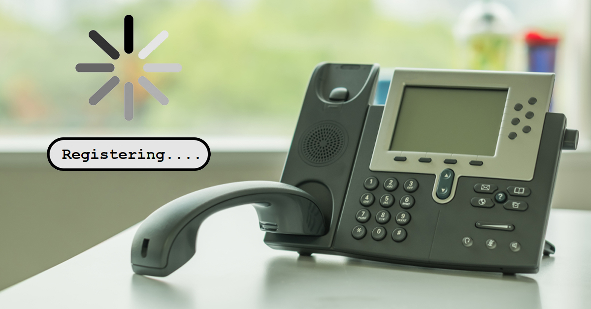 IP phone registration