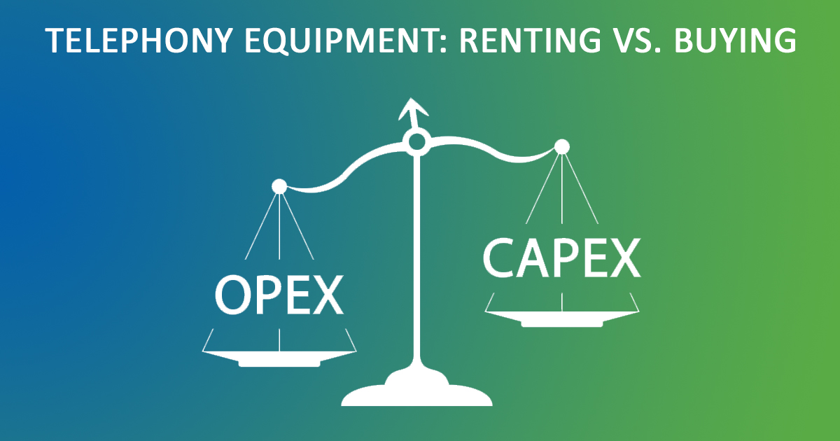 Device as a Service (Daas) illustration: OpEx vs. CapEx