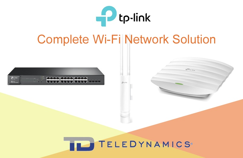 TP-Link JetSream Smart Switch, EAP225 outdoor Wi-Fi AP, EAP225V3 indoor Wi-Fi AP